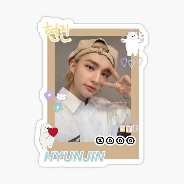 hyunjin Sticker