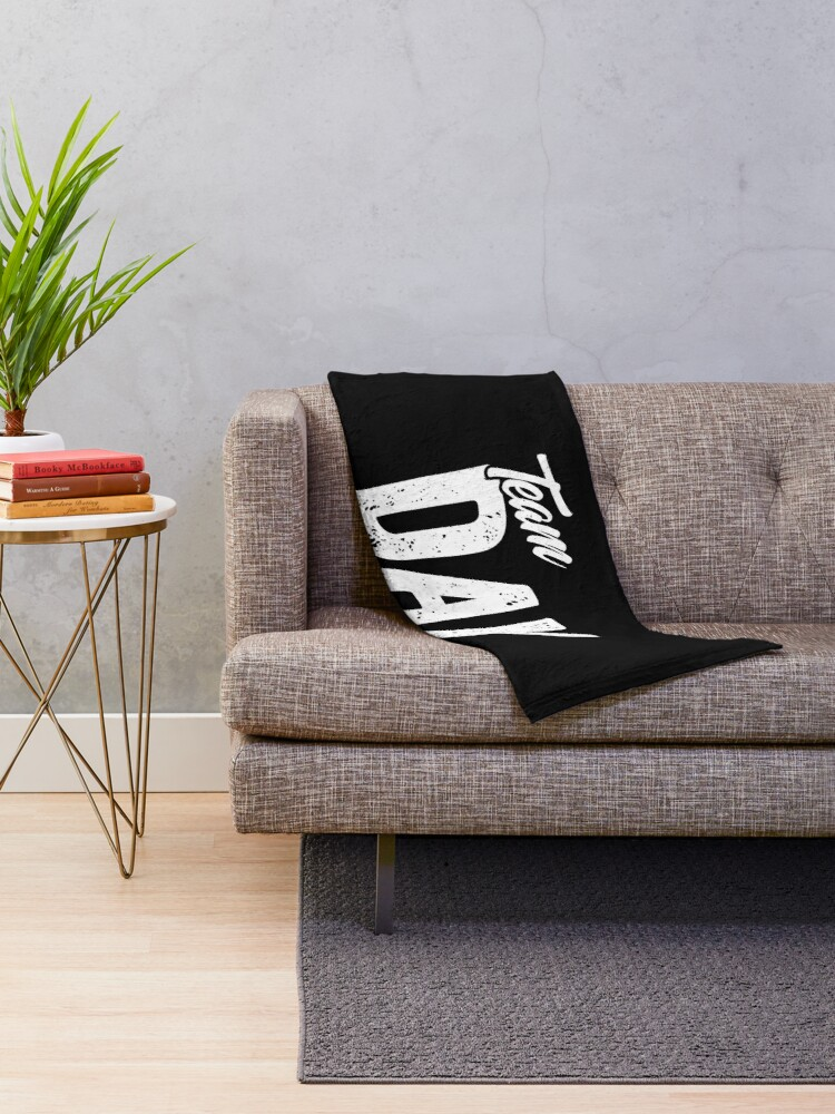 Alternate view of Team Day Shift - Sarcastic Worker Gift - Funny Day Shift Throw Blanket