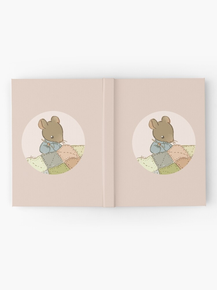Alternate view of a little mouse quilts a little quilt Hardcover Journal