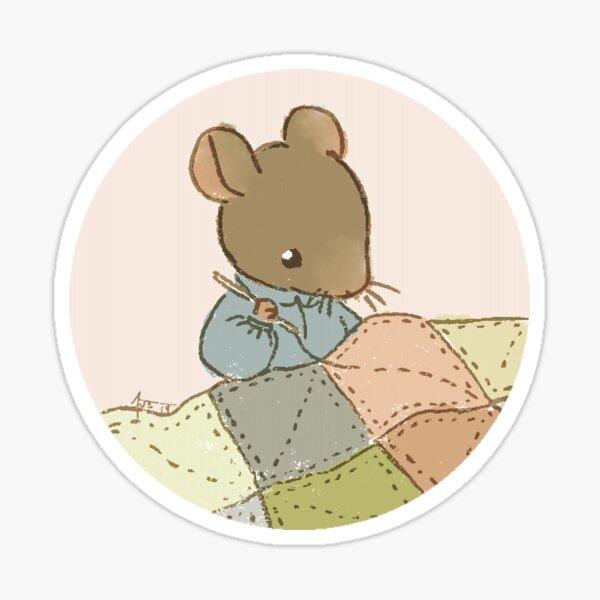 a little mouse quilts a little quilt Sticker