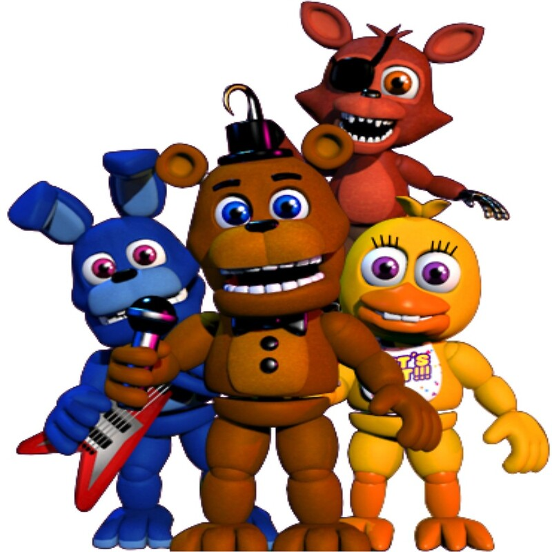 Cute fnaf characters by thefandomlady redbubble - Fnaf cute pictures ...