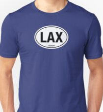 LAX - EURO STICKER T-Shirt