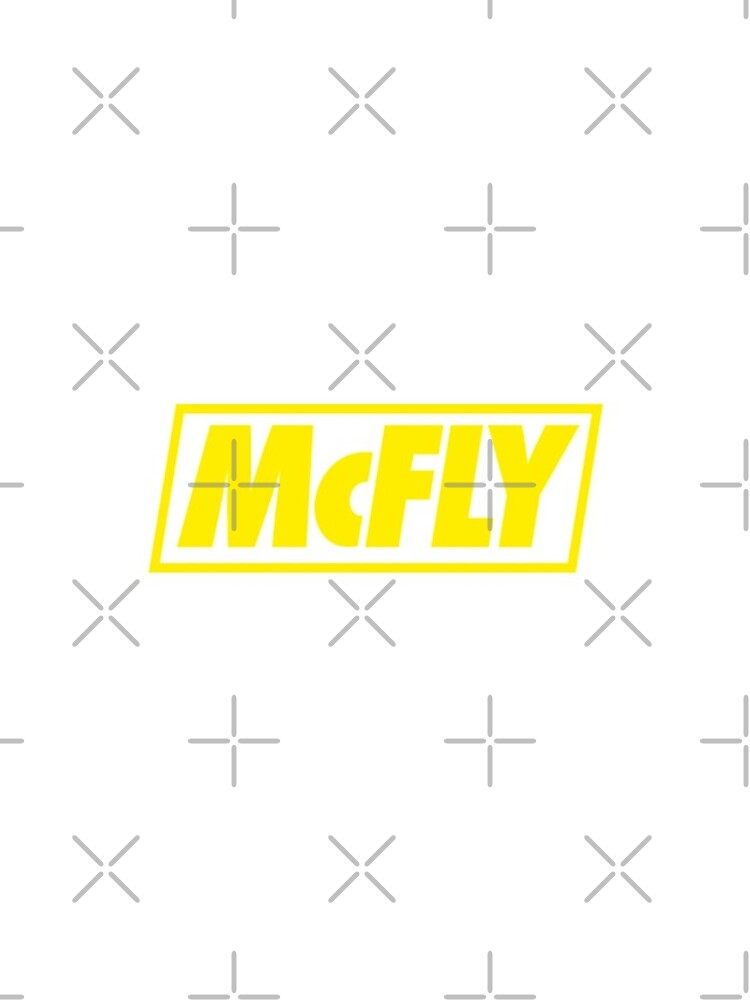 mcfly new logo 2020 in yellow young dumb thrills  by ultraviolet92
