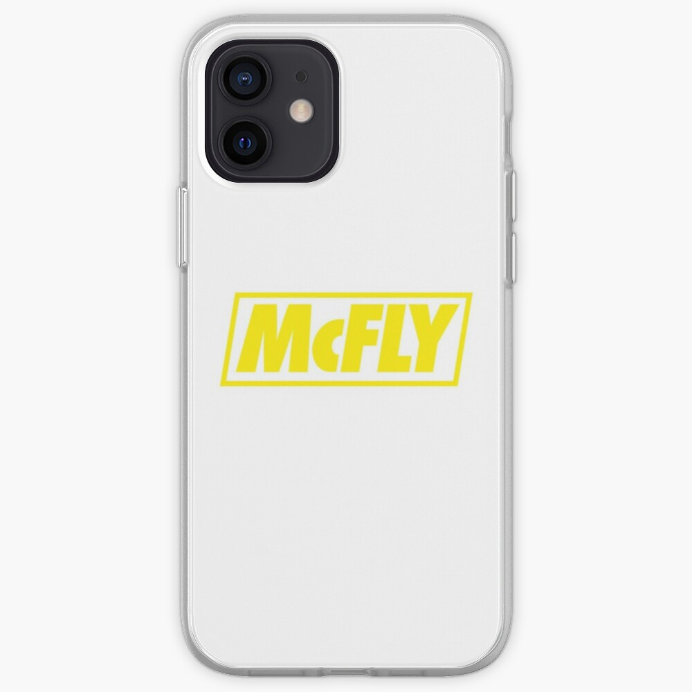 mcfly new logo 2020 in yellow young dumb thrills  iPhone Case & Cover
