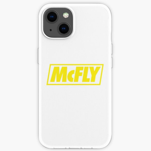 mcfly new logo 2020 in yellow young dumb thrills  iPhone Soft Case
