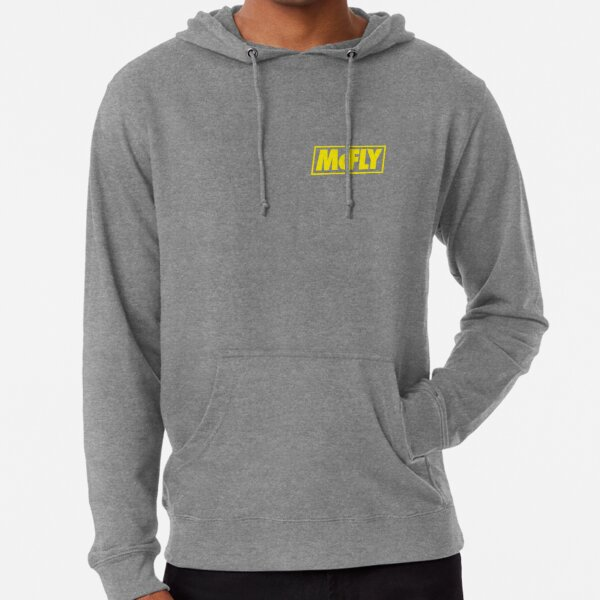 mcfly new logo 2020 in yellow young dumb thrills  Lightweight Hoodie