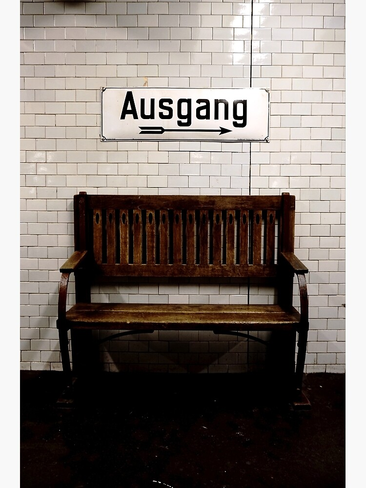 Ausgang by nickcoates