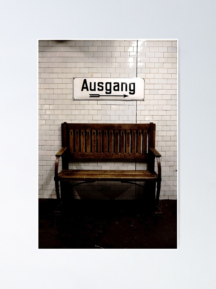 Alternate view of Ausgang Poster