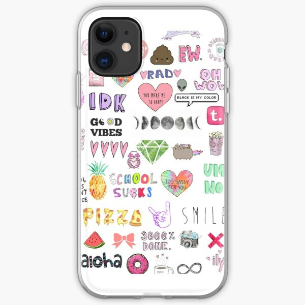 Colorful Tumblr Art iPhone Soft Case