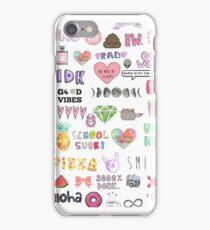 Colorful Tumblr Art iPhone Case/Skin