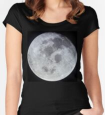 Full Moon Women's Fitted Scoop T-Shirt