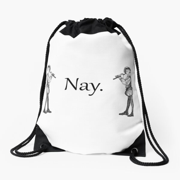 Nay Drawstring Bag