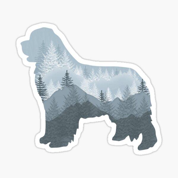 """Newfie """"Tree"""" Design Sticker"""