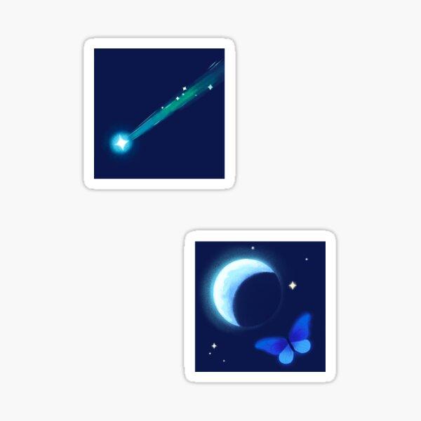 Island Stargazing Sticker Pack Sticker