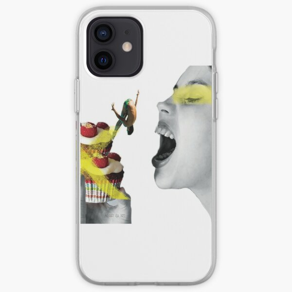 To eat or not iPhone Soft Case