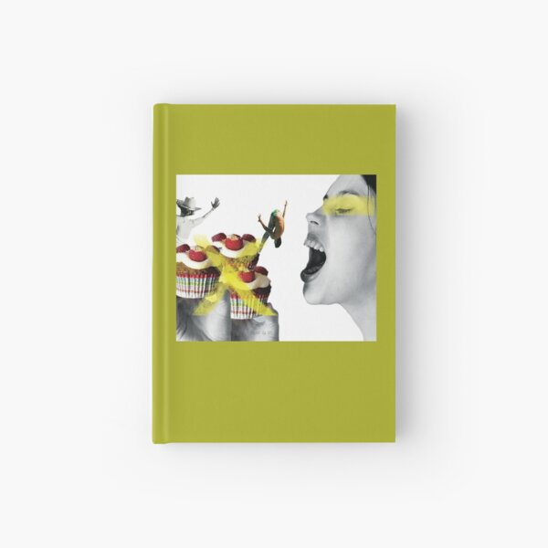To eat or not Hardcover Journal