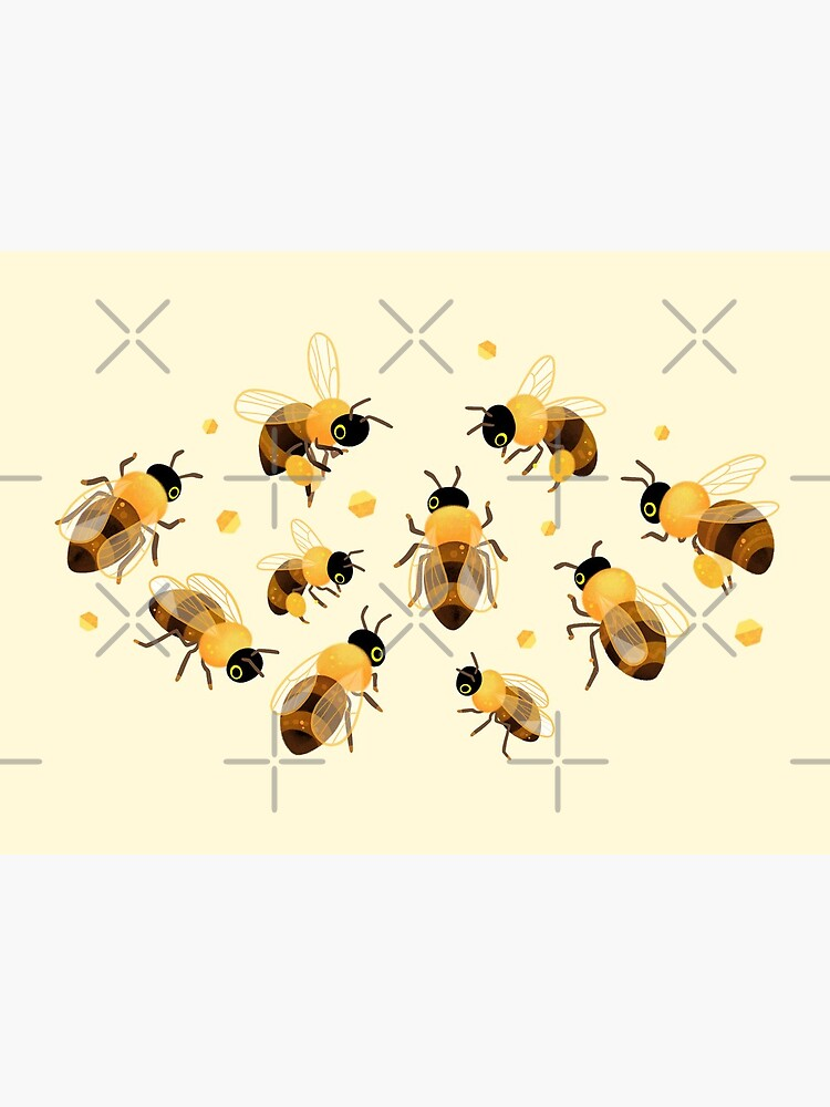 Honey bees by pikaole