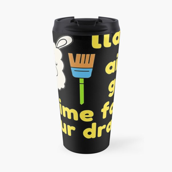 Cleaning Llama, Cleaning Crew Humor, Busy Mom Housework Travel Mug