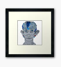 Punx Not Dead Framed Print
