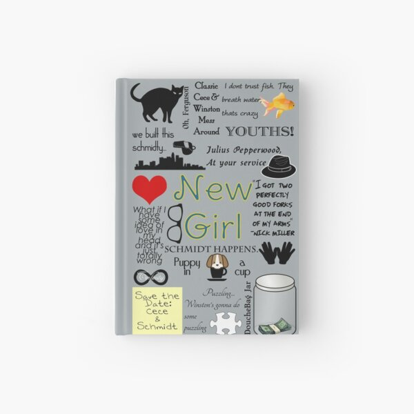 New Girl Hardcover Journal
