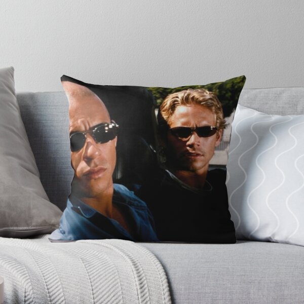 The Fast and the furious Throw Pillow