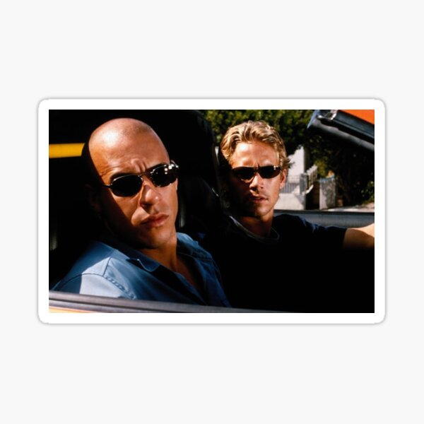 The Fast and the furious Sticker