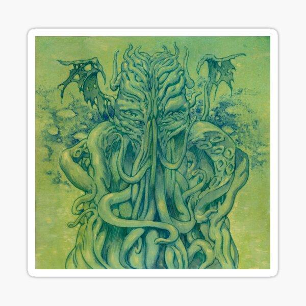 Green Cthulhu  Sticker