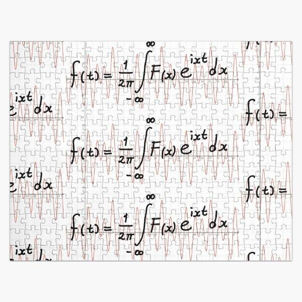 Fourier transform Jigsaw Puzzle