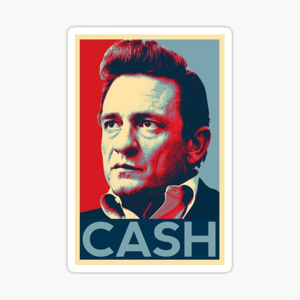 Cash in colorful Sticker