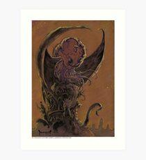 The Cthulu Art Print