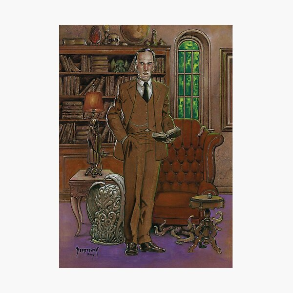 H.P.Lovecraft Art Photographic Print