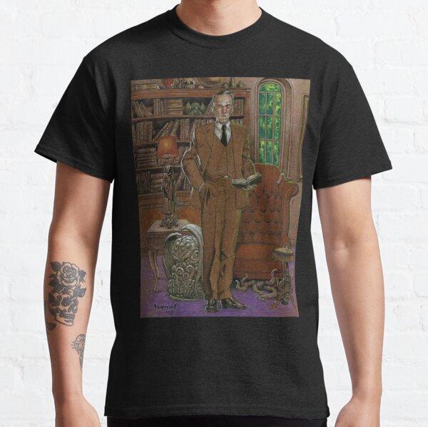 H.P.Lovecraft Art Classic T-Shirt