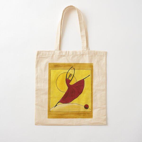 Ballerina Cotton Tote Bag
