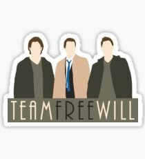 Team Free Will Sticker
