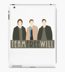Team Free Will iPad Case/Skin