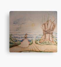 Crossroad Path Cause Nostalgia - Airbrush Art Canvas Print