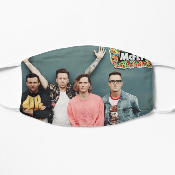 mcfly 2020 picture poster young dumb thrills new logo Flat Mask