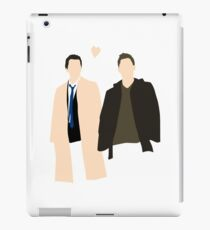 Destiel is real iPad Case/Skin