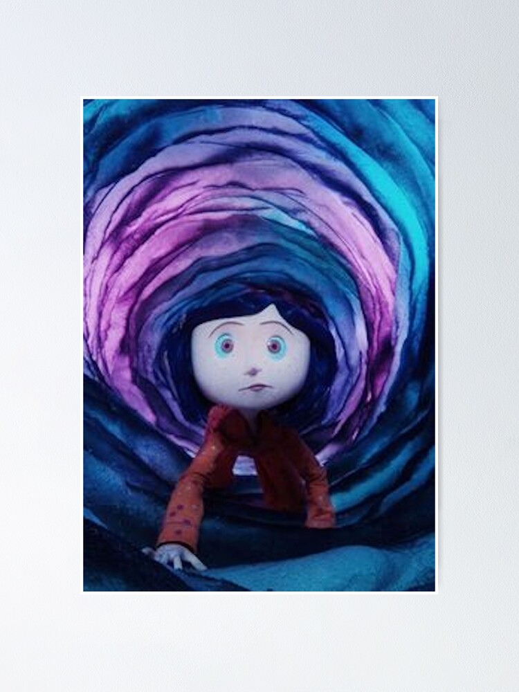 Alternate view of Coraline Poster