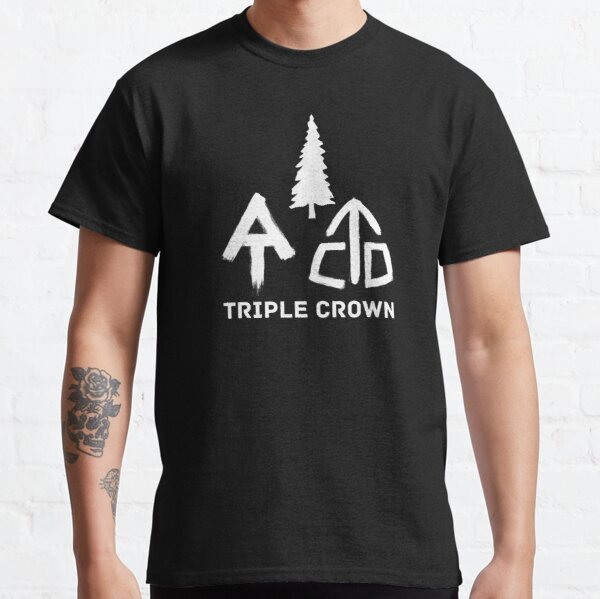 Triple Crown PCT AT CDT Thru-Hiker Blaze Classic T-Shirt