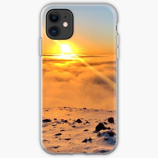 Summit Sunset, Mt Hotham iPhone Soft Case