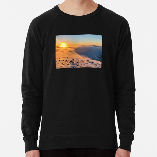 Summit Sunset, Mt Hotham Lightweight Sweatshirt