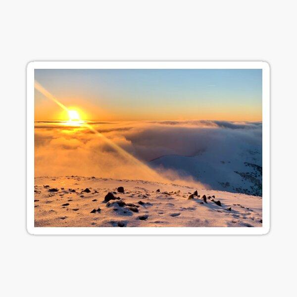 Summit Sunset, Mt Hotham Sticker