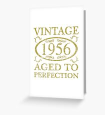 Vintage 1956 Birthday Greeting Card