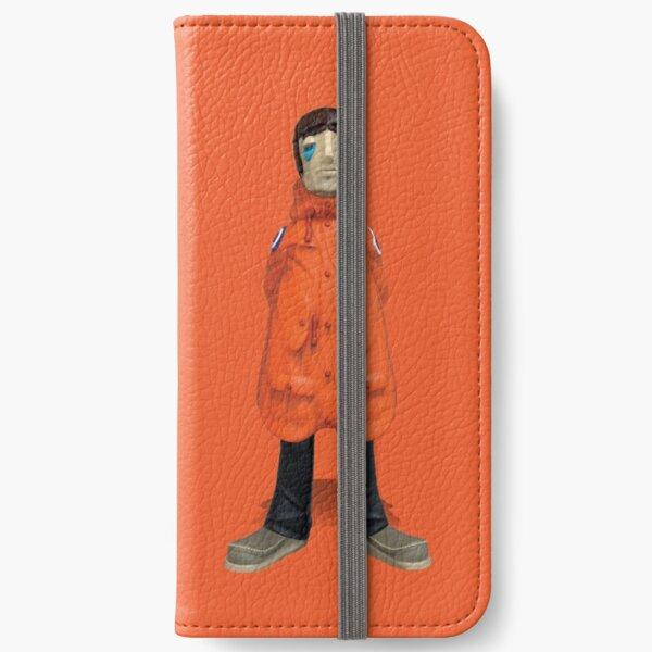LGv1 ArtToy (Manchester - Love Forever - Orange Parka) iPhone Wallet