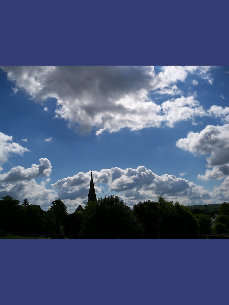 Clouds Over the Spire by CraftSalad