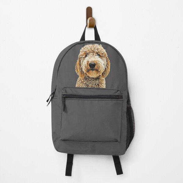 Labradoodle Golden Doodle Backpack
