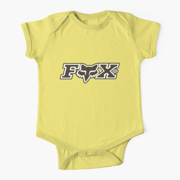 Fox racing motorcycle gp Short Sleeve Baby One-Piece