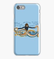 Code Wizard Girl iPhone Case/Skin