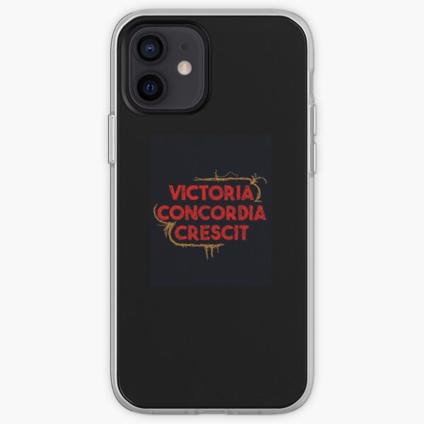 Victoria Concordia Crescit  iPhone Soft Case